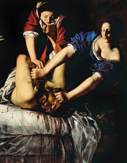 artemisia gentileschi giuditta decapita oloferne