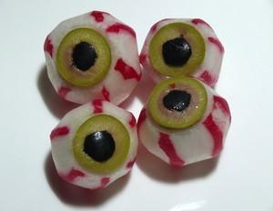 occhi aperitivo halloween