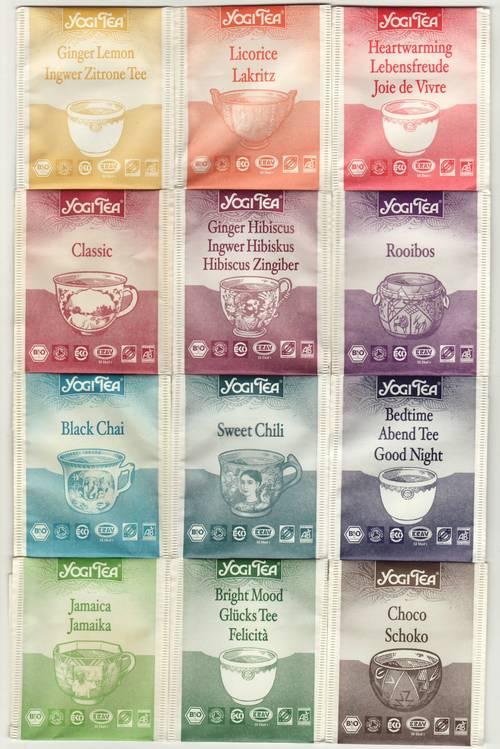yogi tea christmas collection bustine