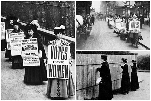 suffragette giornata della donna