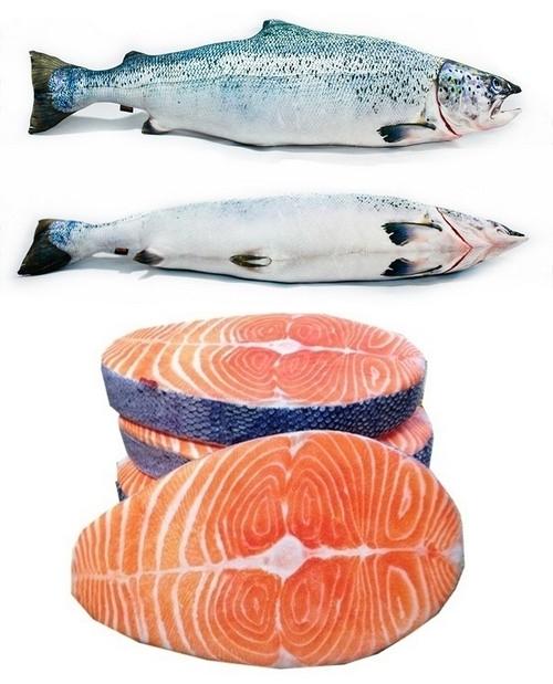 cuscini salmone