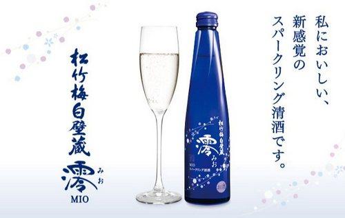sake frizzante mio