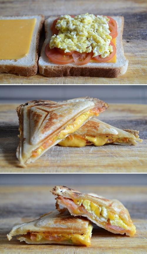 toast sandwich strapazzato