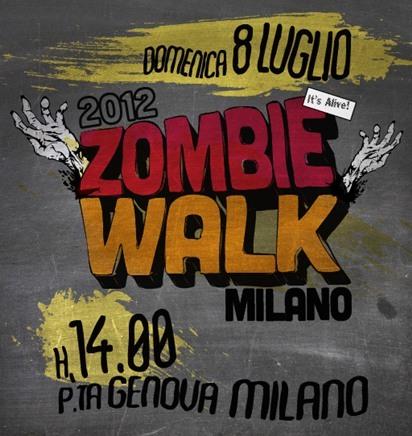 zombie walk milano 2012
