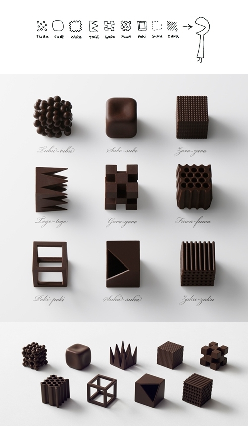 chocolatexture nendo