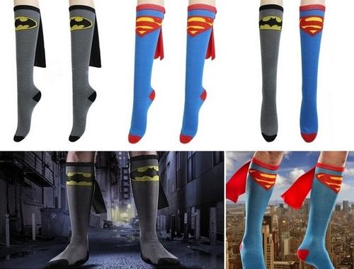 calze supereroi