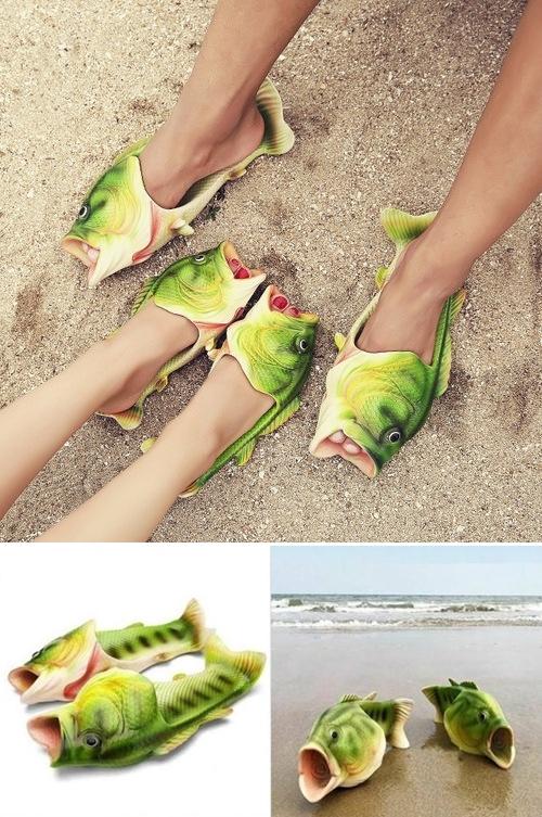 ciabatta pesce fish flops slippers