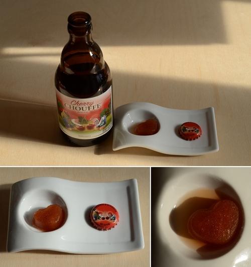 cuori ghiacciati birra ciliegia