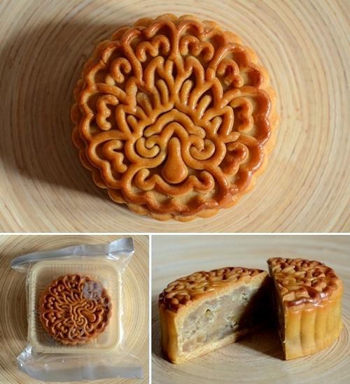 mooncake cinese alla castagna