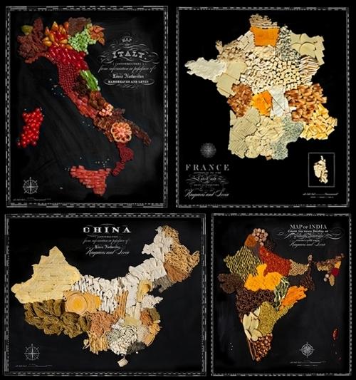 mappe alimentari henry hargreaves