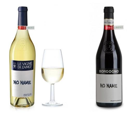 vino no name bianco e rosso