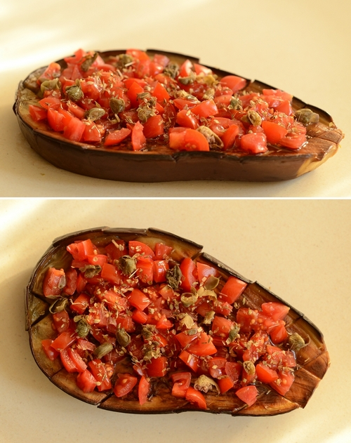 barchette melanzane mediterranea