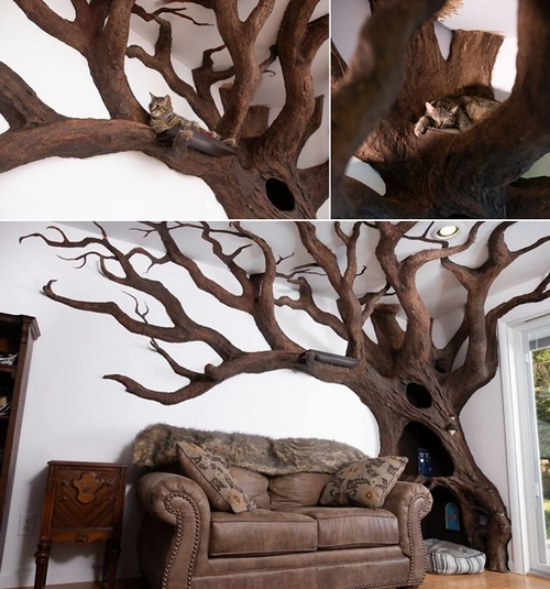 albero robert rogalski gatto