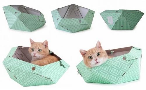 cuccia gatto oliver cartone