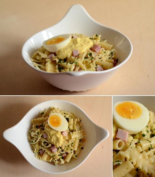 pasta fredda crema uovo