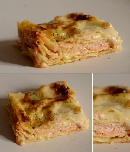 lasagne salmone affumicato