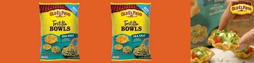 tortilla bowls old el paso